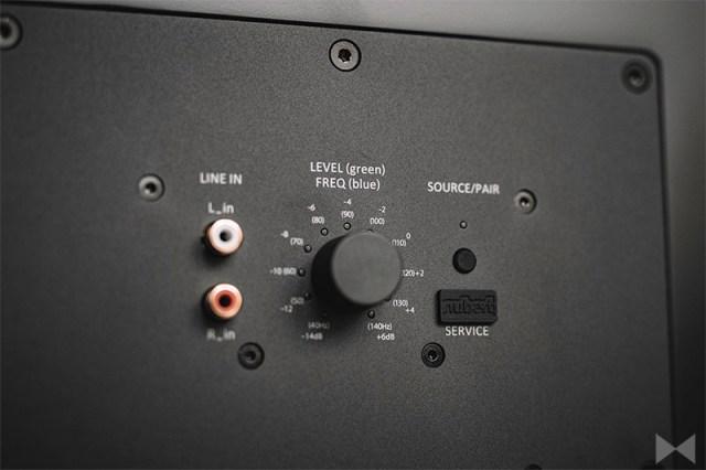 Nubert nuSub XW-700 Anschlüsse