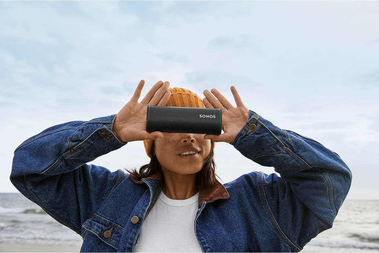 Sonos Roam: Bluetooth-Lautsprecher-Mini mit Sound Swap Klang-Sharing