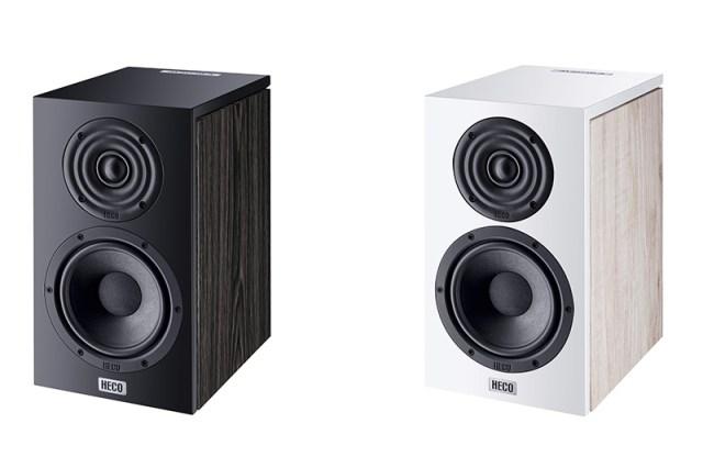 Heco Aurora 200 Kompaktlautsprecher in Schwarz und Weiß