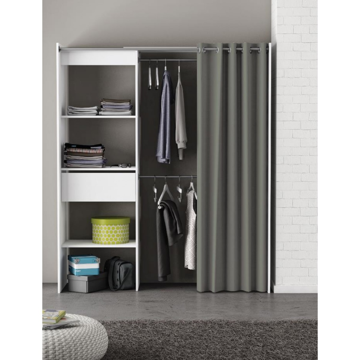 Modern Home Arrow Bedroom Organiser Free Next Day Delivery