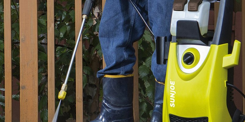 Electric Pressure Washers for Around the Home (Siding, Driveway Concrete & More)