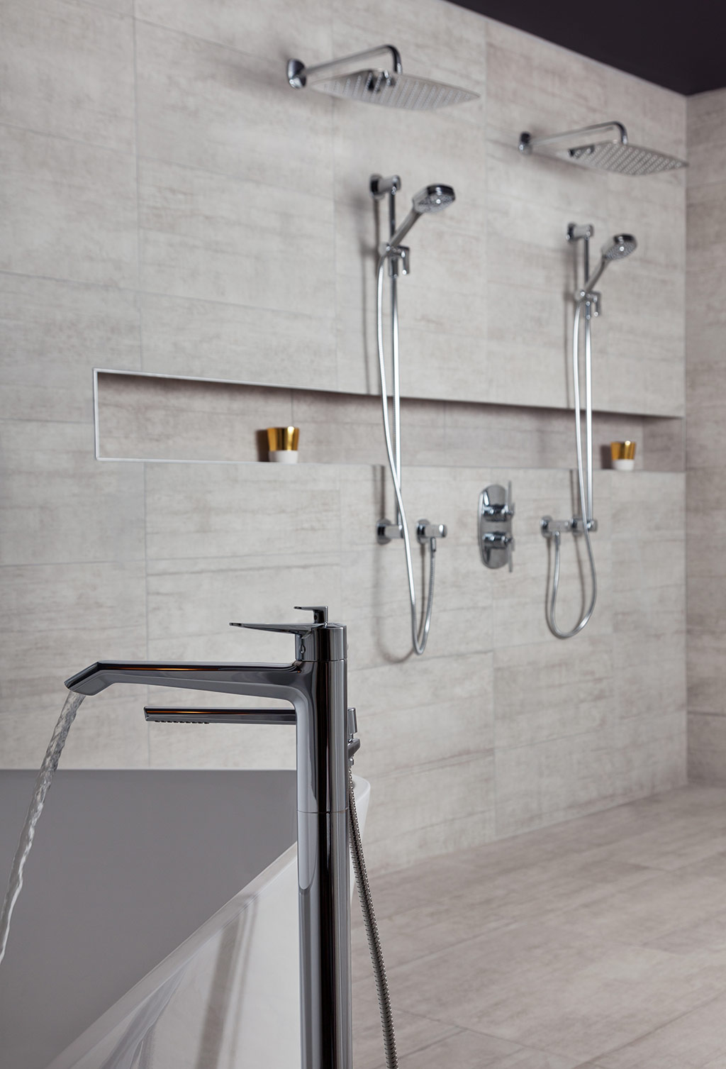 Venty Collection Shower System by Riobel  Modern Home