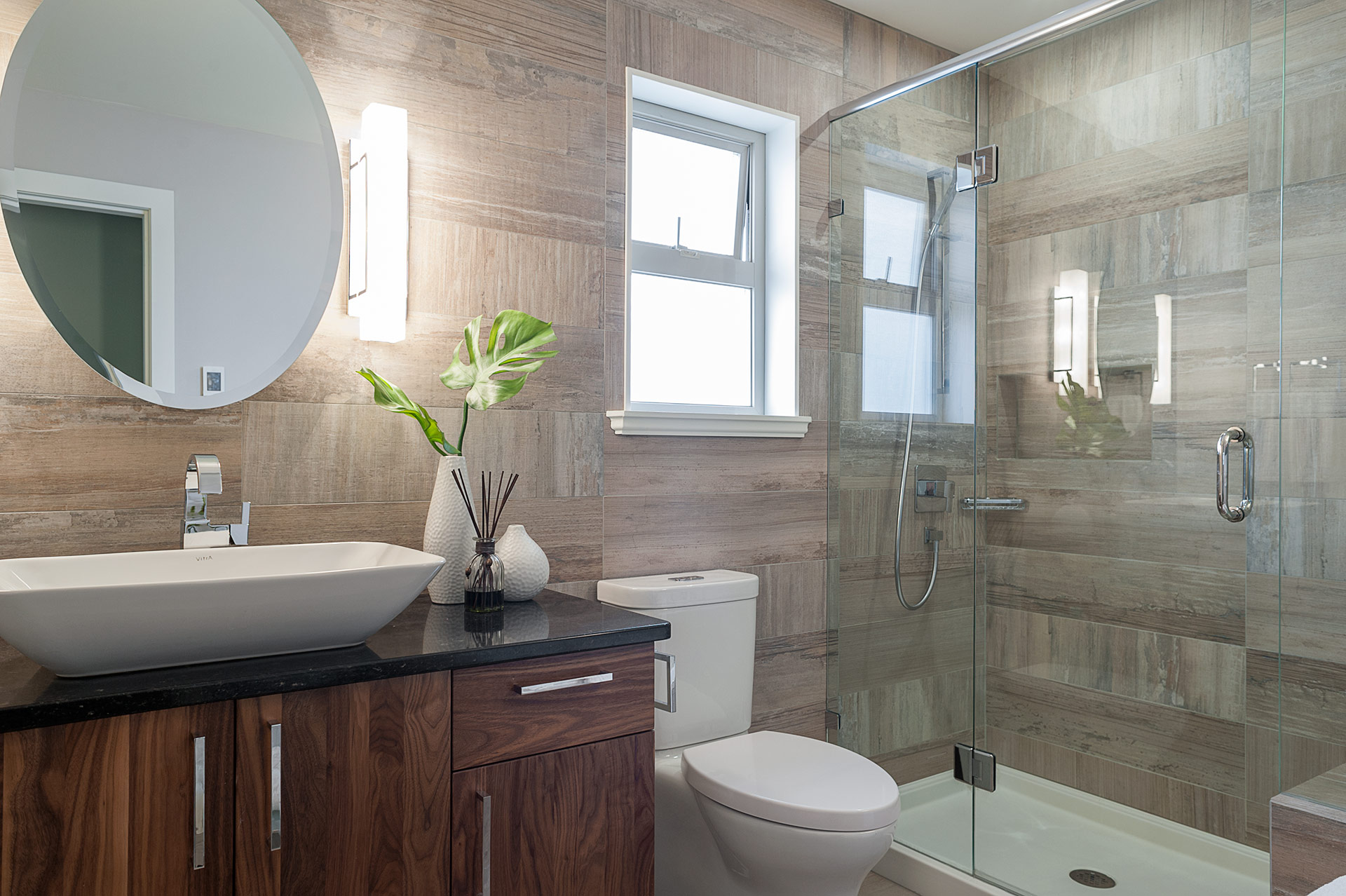 Small Bathroom Renovation Loaded With Style  Modern Home