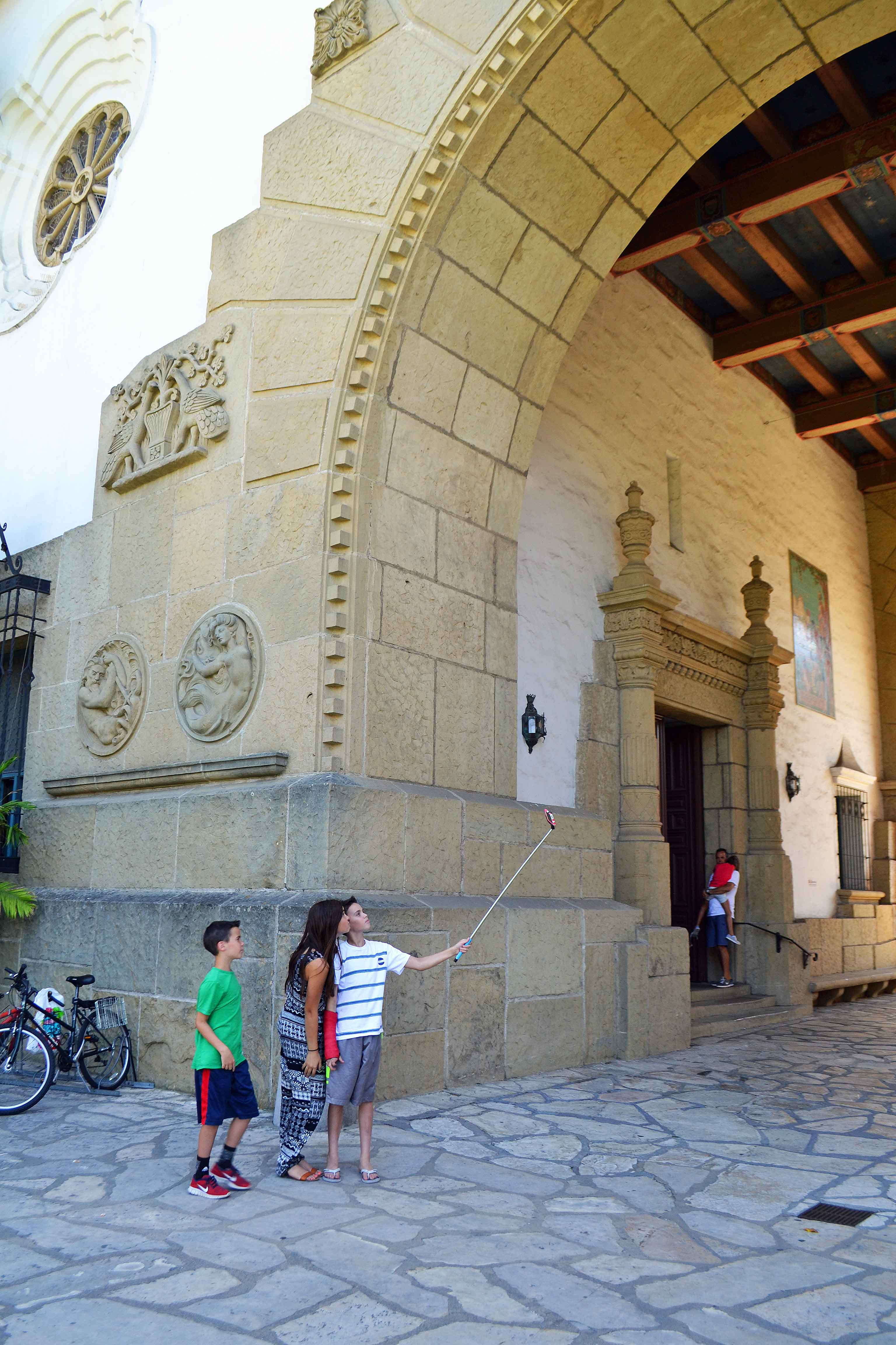 Santa Barbara Courthouse on Pacific Coast Highway Road Trip