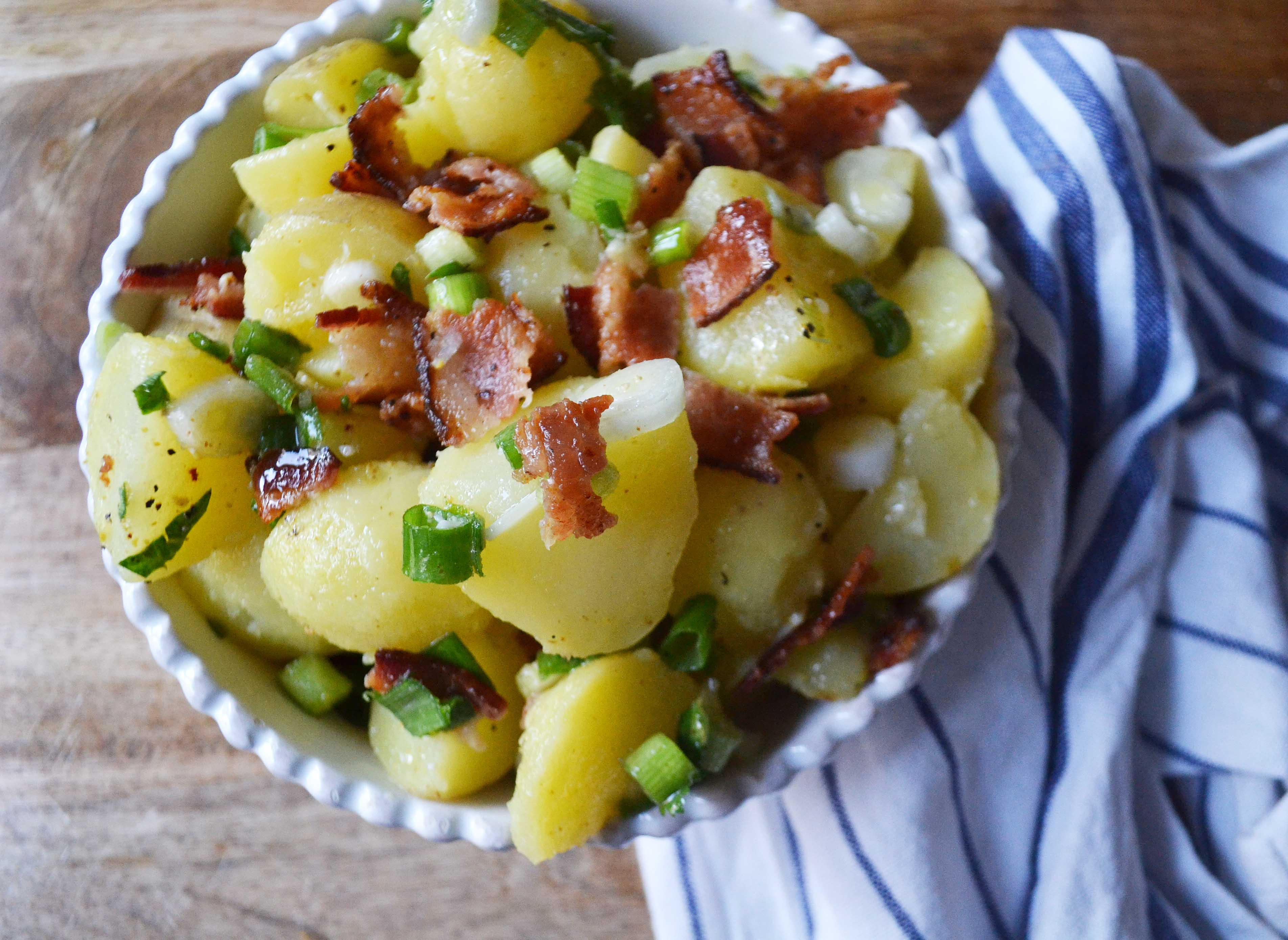 Not Yo Mama's Potato Salad by Modern Honey l www.modernhoney.com