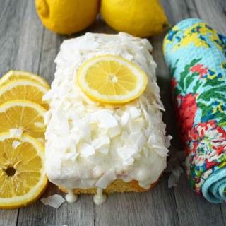 Greek Yogurt Lemon Bread