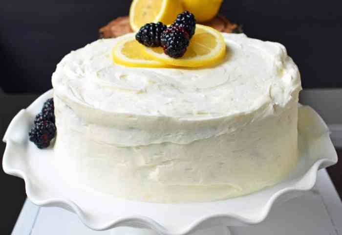 Italian Lemon Olive Oil Cake Modern Honey