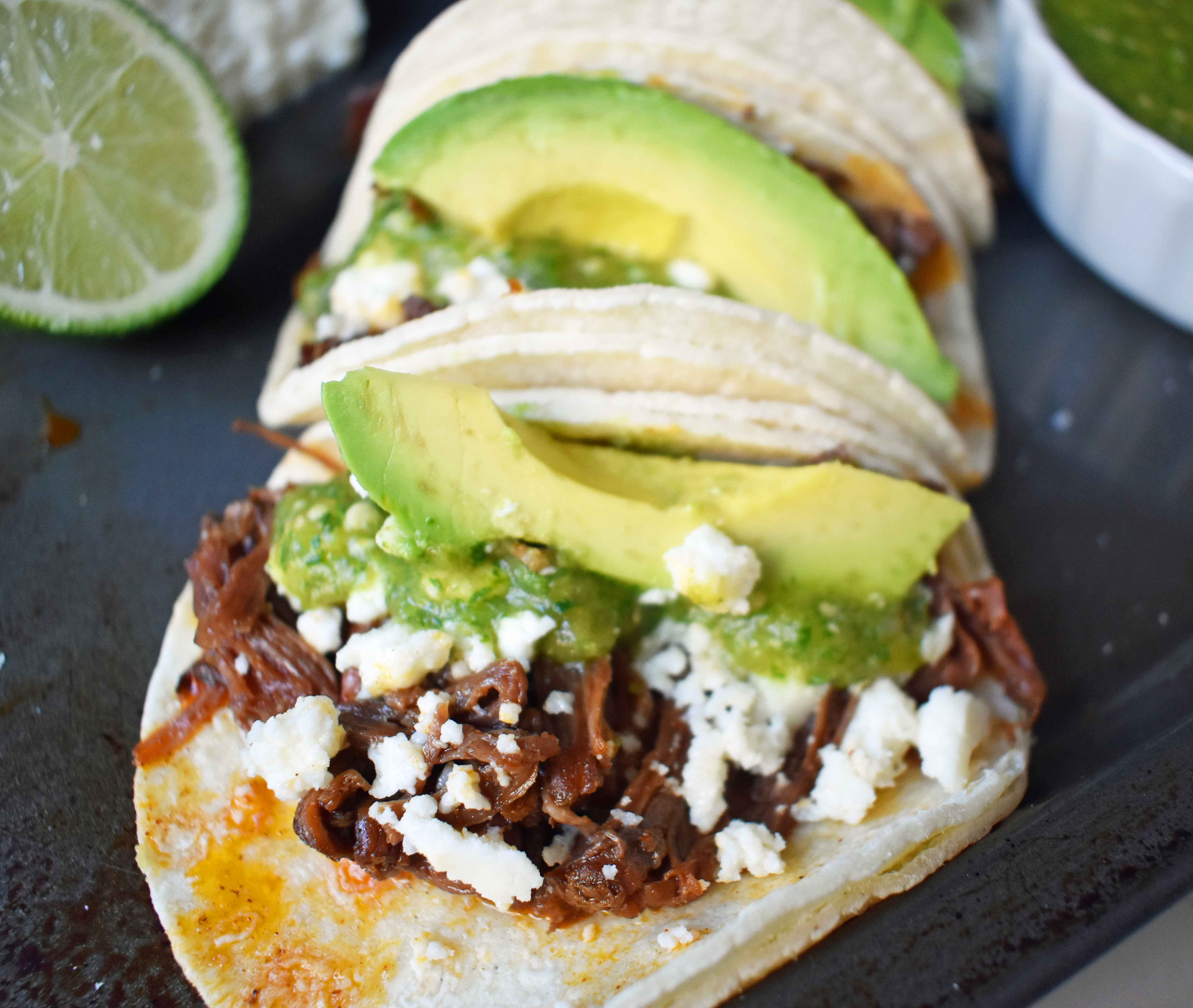 Queso Fresco On Tacos