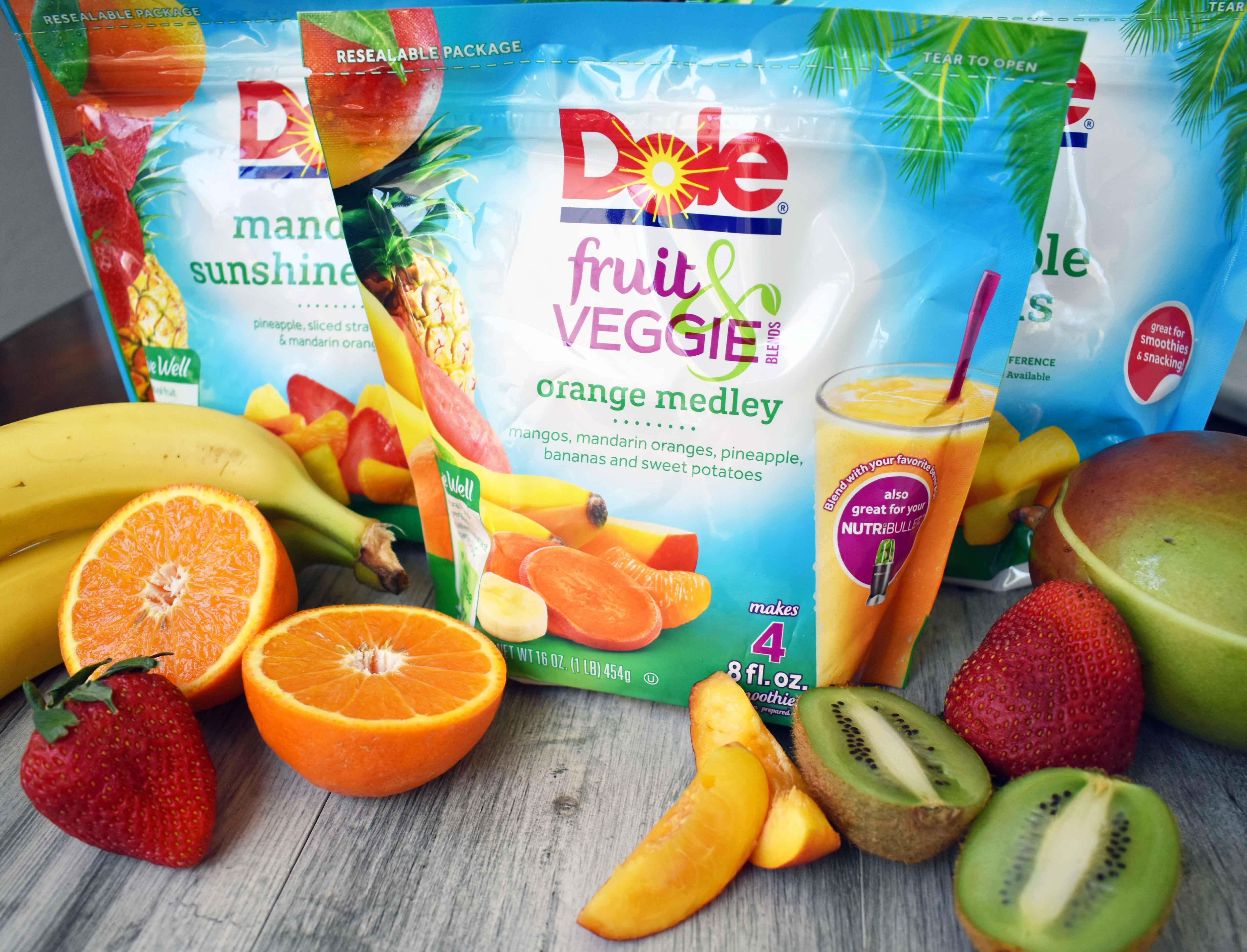 dole frozen fruit healthy fruit desert