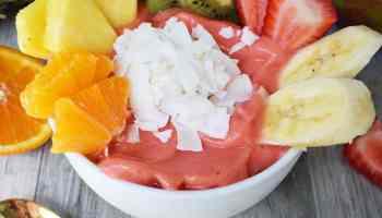 Tropical Dragon Fruit Pitaya Smoothie Bowl Modern Honey