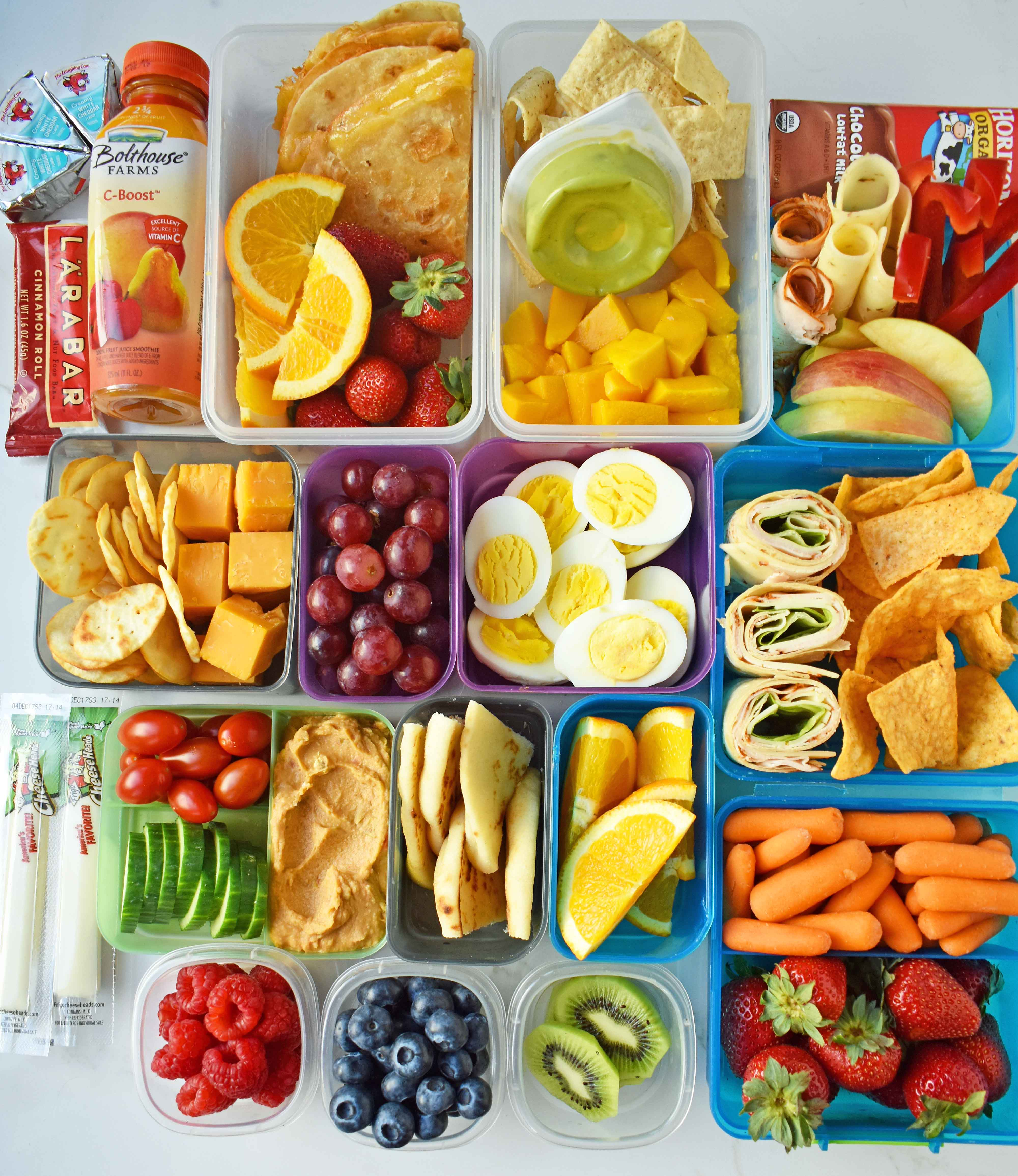 Back To School Kids Lunch Ideas Modern Honey