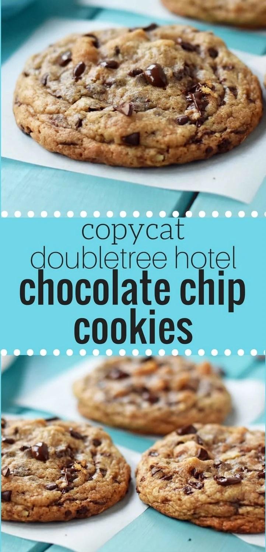 Copycat Doubletree Hotel Chocolate Chip Cookies | Modern Honey