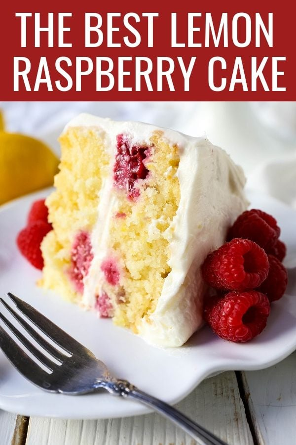 Lemon Raspberry Cream Cake - Mother's Day Dessert Recipes