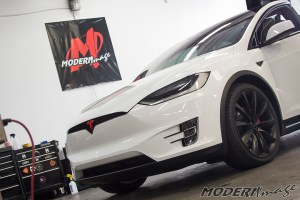 Modern Image Tesla Model X Blackout and Clear Bra 08