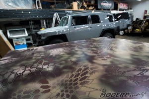 Modern Image Toyota FJ Cruiser Kryptek Camo Car Wrap 01