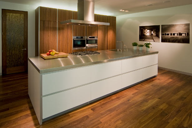 Modern Kitchen Open Shelves