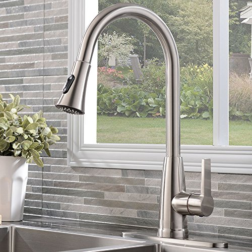 Polished Chrome Weirun 10-Inch Kitchen Sink Faucet Hole Cover Deck Plate Escutcheon