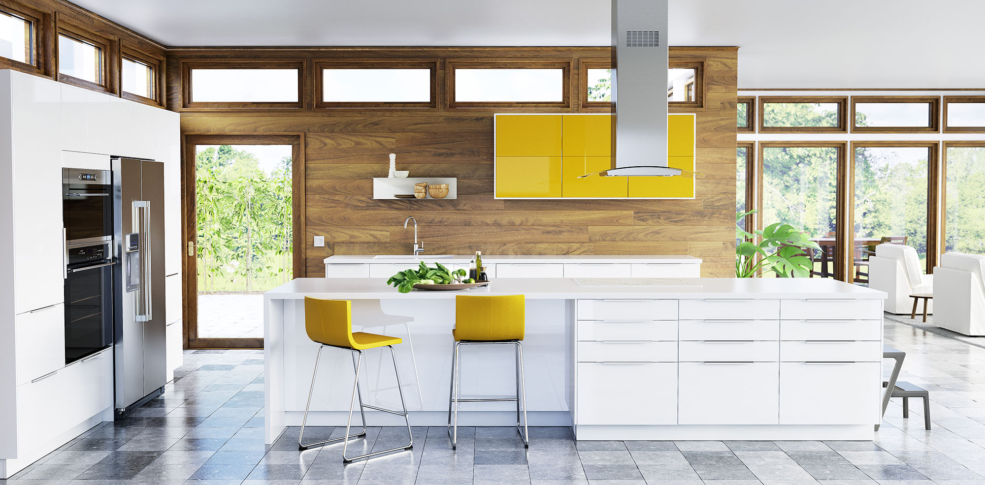 Agreable New IKEA SEKTION Kitchen RINGHULT High Gloss White And JÄRSTA High Gloss  Yellow (CNW Group. 784b4b89a76d03226013656a39dff2f4