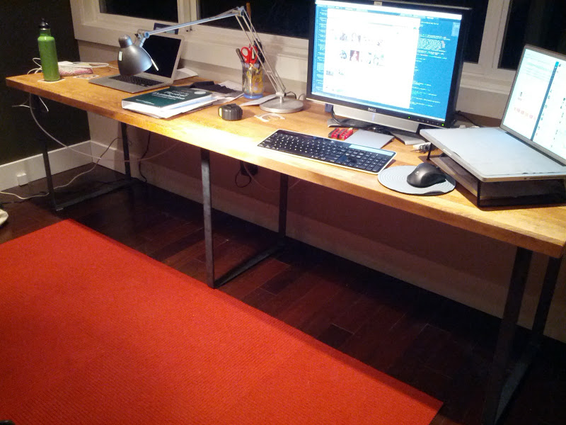 Make Your Own Desk  Modern Legs