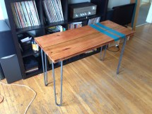 Kimi Kitchen Table With Hairpin Legs Modern