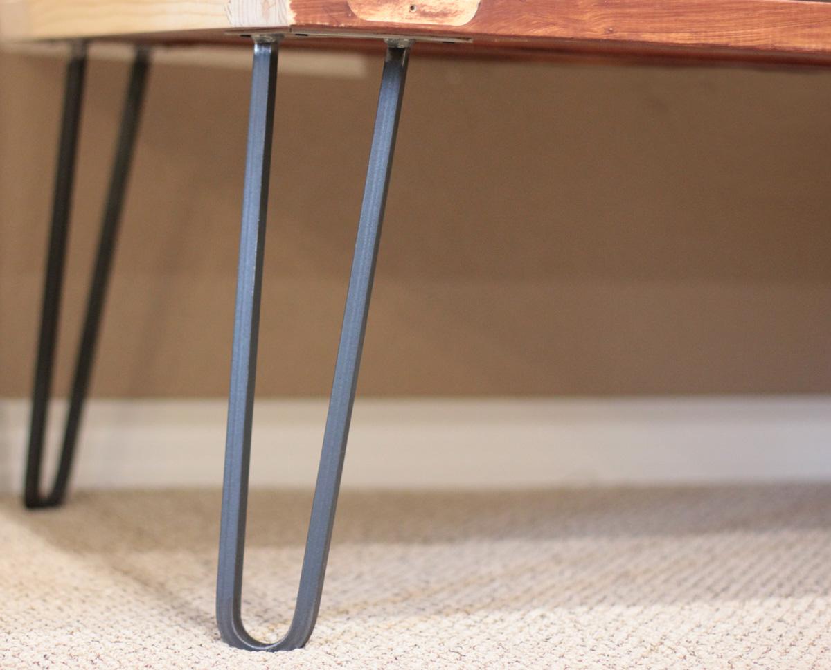 Square Bar Hairpin Legs Modern Legs