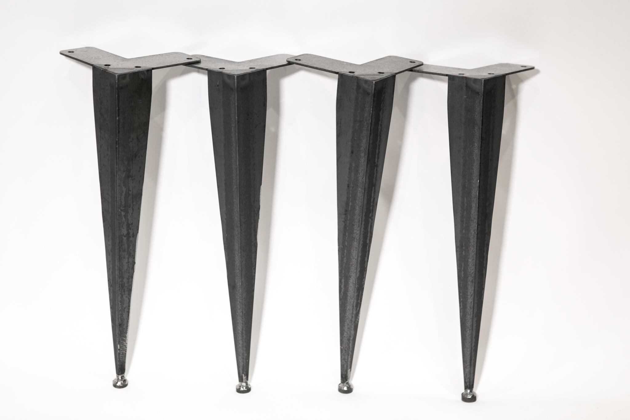 angled sofa legs leather and ottoman set tapered angle iron table  modern
