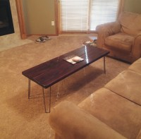 Grants Hairpin Leg Coffee Table  Modern Legs