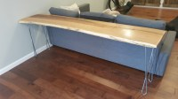 Presleys Hairpin Leg Couch Table with The Twist Legs ...