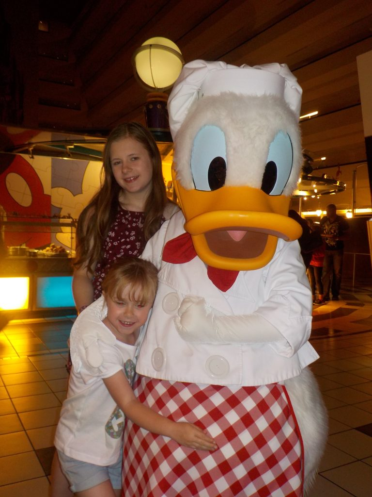 Donald Duck Chef Mickey's
