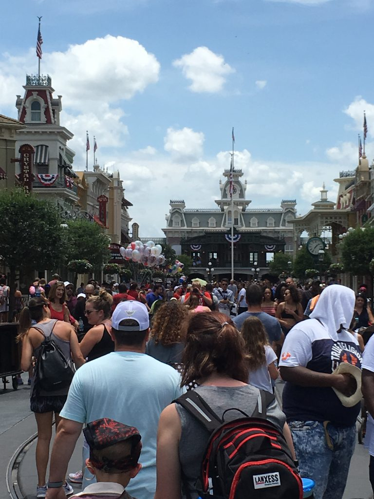 Avoiding Crowds Walt Disney World