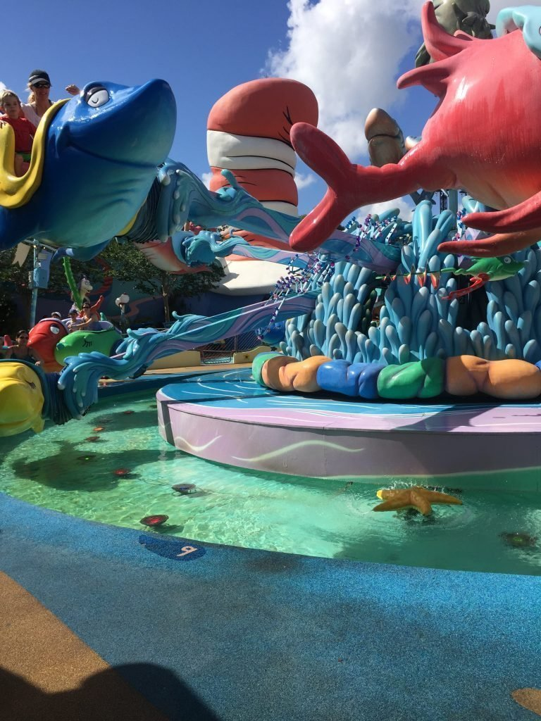 Islands of Adventure Seuss  Landing One Fish Two Fish