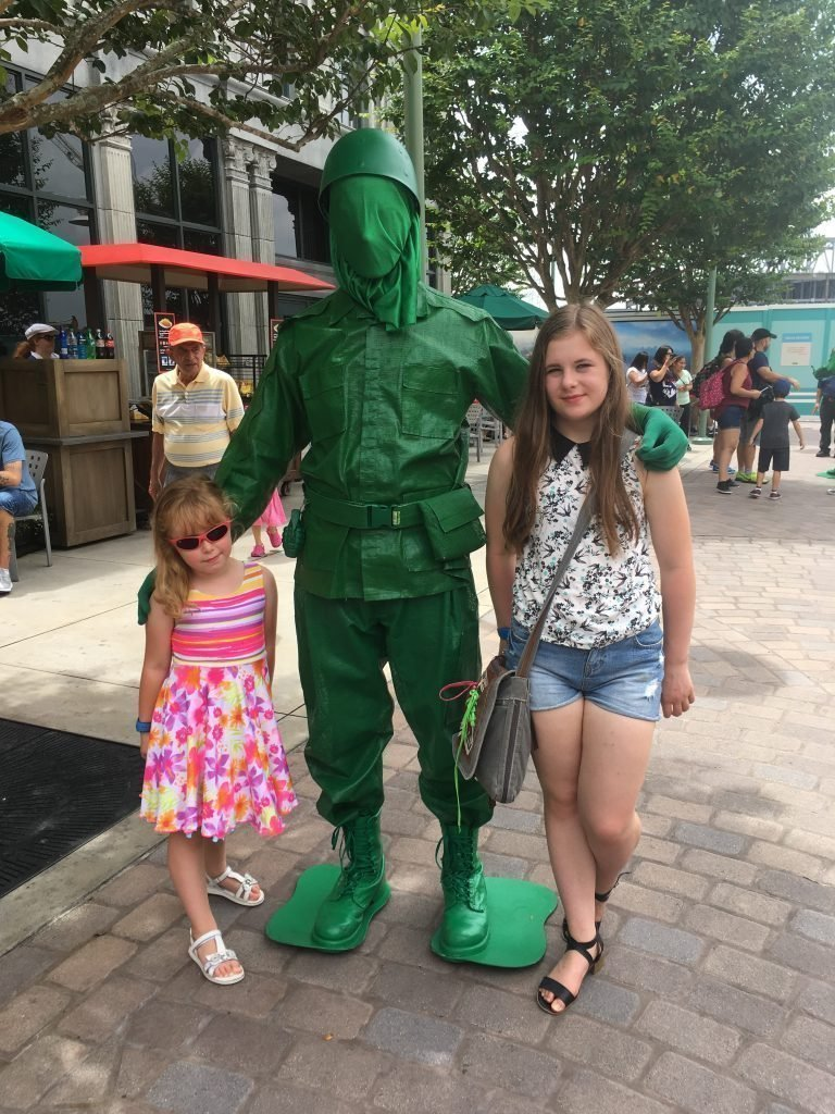 Green Army Man Hollywood Studios