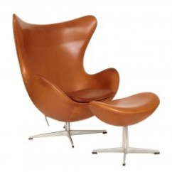 Mid Century Egg Chair Pottery Barn Aaron Look Alike Modern Living Supplies Antiques Collection Arne Jacobsen And Ottoman