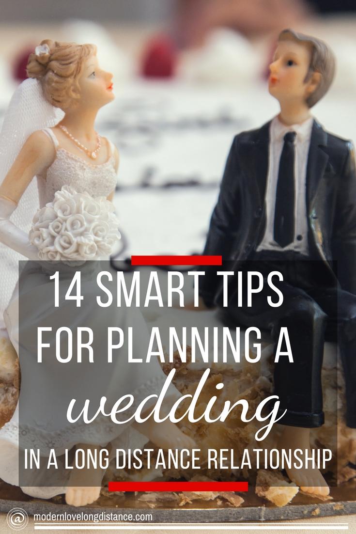 Planning wedding long distance relationship