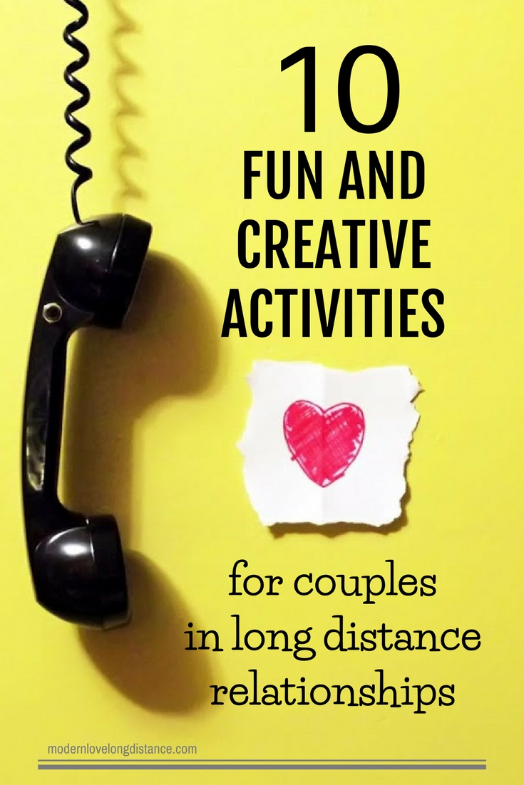 fun and creative activities for couples in long distance relationships