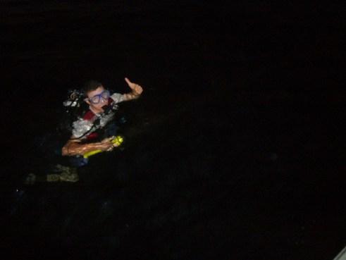 Scuba diving Mike