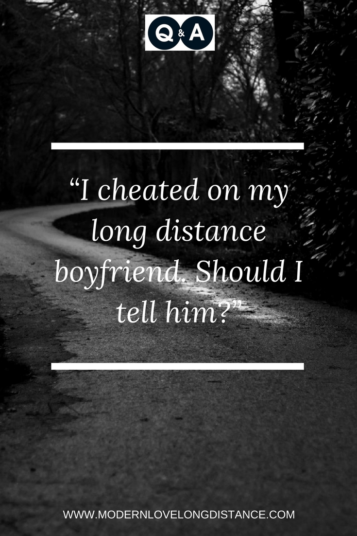 I feel like my boyfriend is cheating