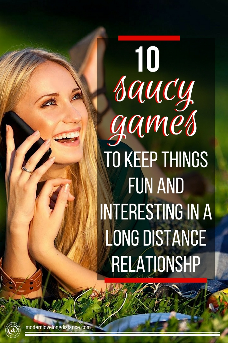 Texting too much in a long distance relationship