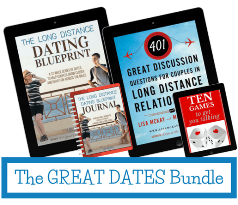 The Great Dates Bundle for couples in long distance relationships