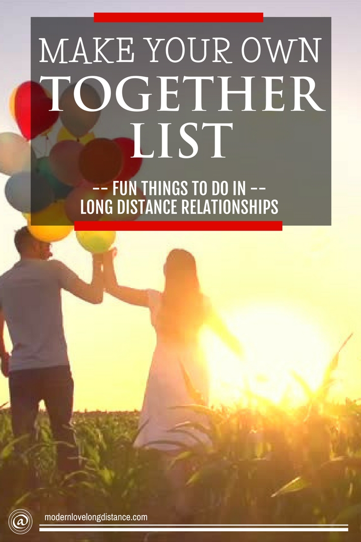 how do make my long distance relationship last
