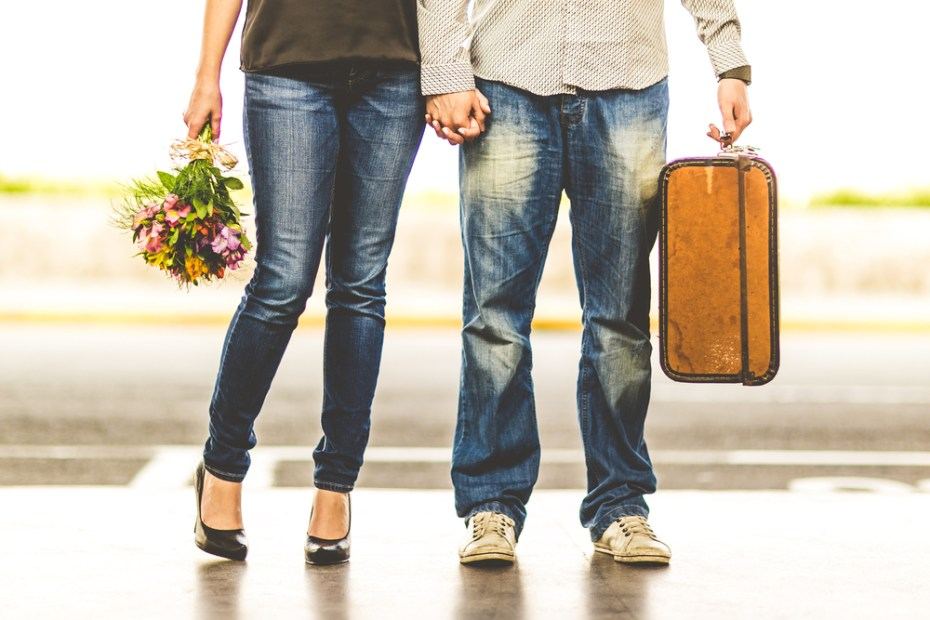 before you meet in person at the airport