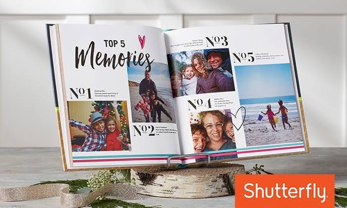 Shutterly memory photo book