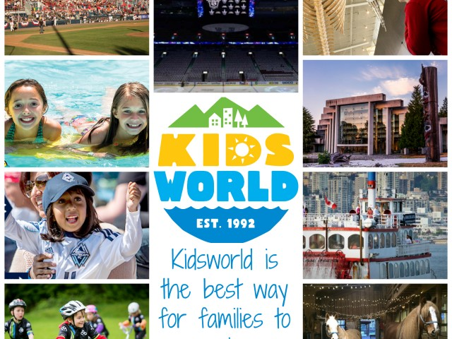 The Best of Vancouver this Summer for only $50 with Kidsworld