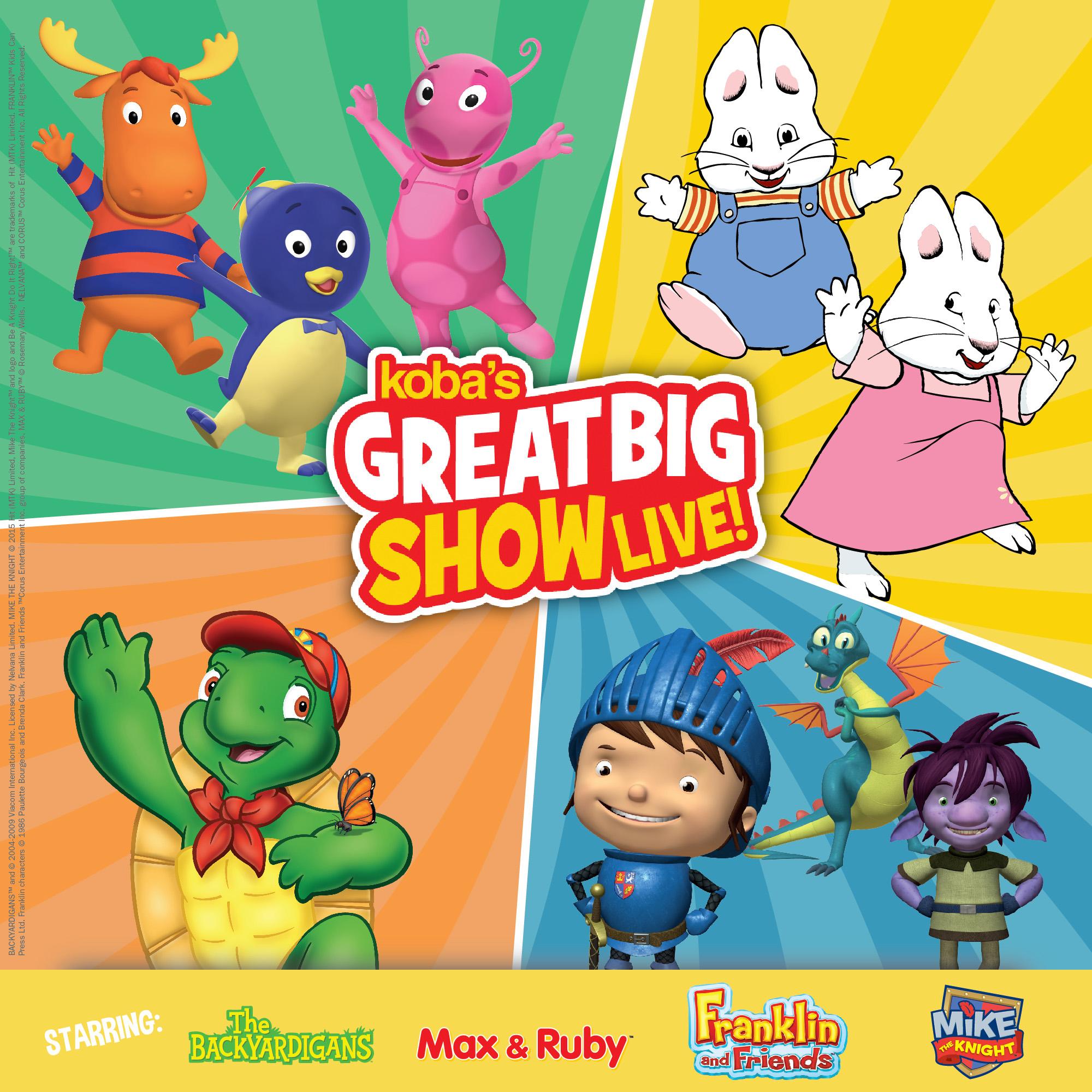 koba s great big show modern mama