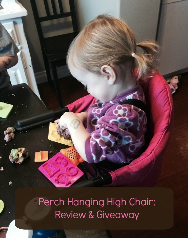 hanging chair edmonton walmart massage perch high review modern mama my little product tester has been hard at work this past week as we have using the guzzie guss and i must say she is a fan