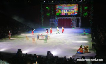 Celebrating with Mickey…on Ice!