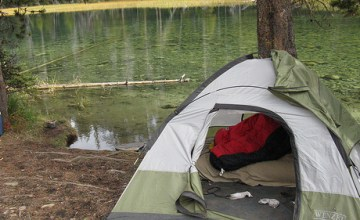 On the Fly Camping…at Home