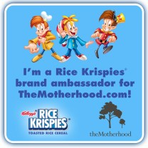 Rice Krispies Brand Ambassador - The Motherhood