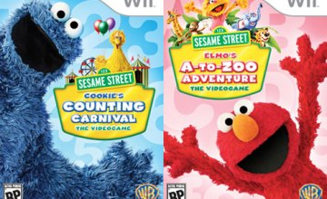 Sesame Street Video Games {Giveaway}
