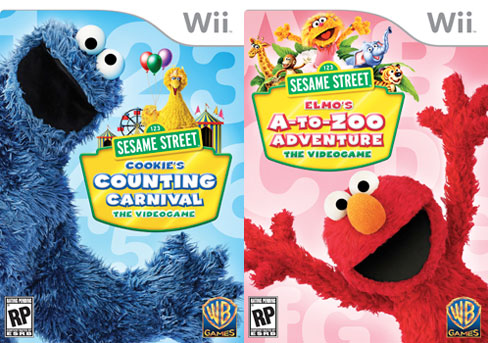 Sesame Street Video Games for the Wii